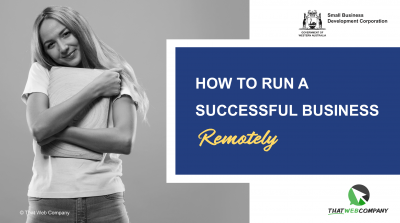 SBDC how to run a successful business remotely